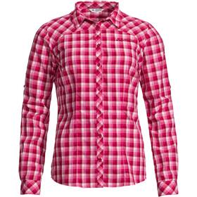 VAUDE Tacun Langarm Shirt Damen crimson red